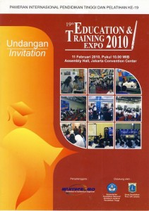 Education & Training Expo 2010