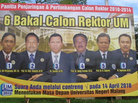 Bakal Calon Rektor