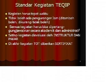 STANDAR TEQIP
